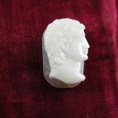 Agate Cameo Carving Antinious