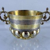 Early Seventeenth century silver drinking cup
