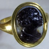 Blackamore cameo ring