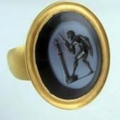 Eighteenth Century Niccolo intaglio Ring