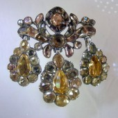 Eighteenth Century Topaz Brooch
