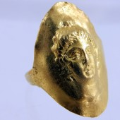 Greek gold ring