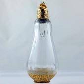 Eighteenth century Ottoman gold perfume bottle