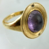 "Ancient ""magical"" amethyst ring"