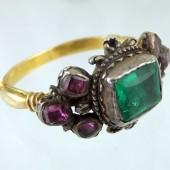 Seventeenth century emerald ring