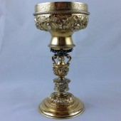 Sixteenth century gilt silver cup