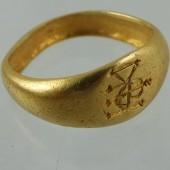 Byzantine gold ring