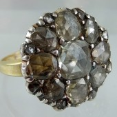 Eighteenth century diamonds ring