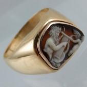 Roman cameo ring