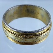 Medieval Gilt Silver Ring