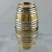 Eighteenth century silver gilt drinking cup