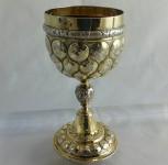 1620 Nuremberg Silver gilt goblet