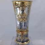 Seventeenth century silver beaker