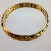Enameled Posy Ring ca1600