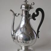 Silver Italian Coffee Pot