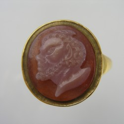 Agate ring of Pan