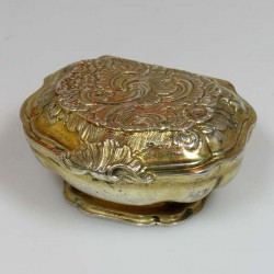 Silver Gilt Spice Box