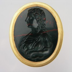 16th Century Intaglio of Cleopatra