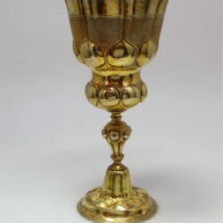 Antique Silver Wine Goblet