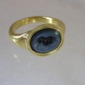 Hellenistic Niccolo Intaglio Ring