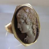 Eighteenth Century Cameo Ring of Dionysus