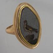 Micro Mosaic Gold Ring