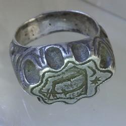 Sixteenth century silver ring