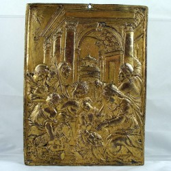 Sixteenth Century Gilt Bronze Plaque