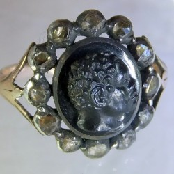Eighteenth century Blackamore ring