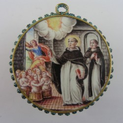 Seventeenth Century Enameled Gold Pendant