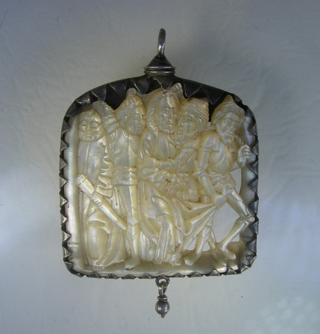 Small Mother of Pearl Plaque