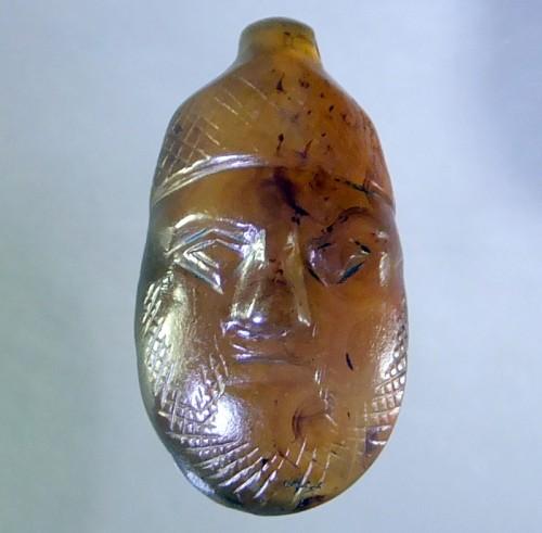 Medieval agate amulet