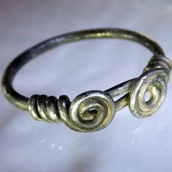 Saxon Silver Ring