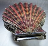 Early Eighteenth Century Silver Mounted Shell Snuff Box