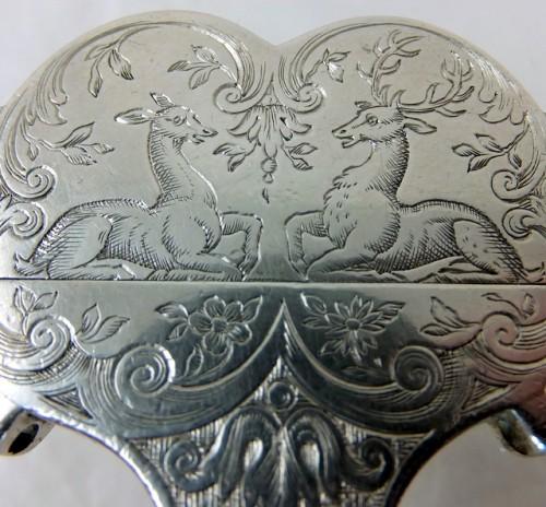 Silver Scissors Case