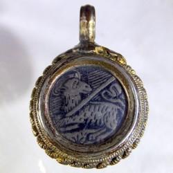 Forteenth century pilgrim token