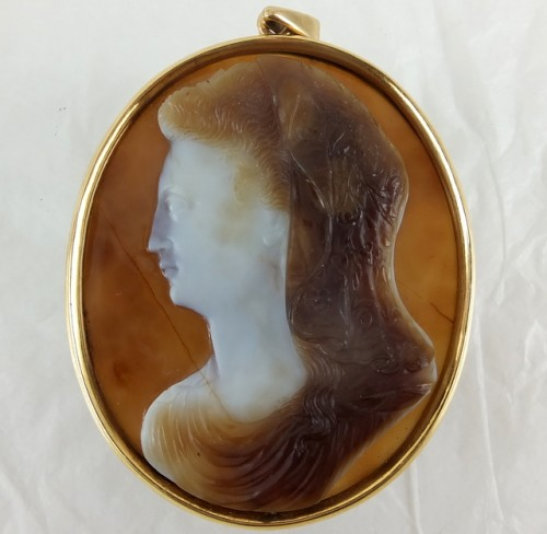 """Large"" seventeenth century agate cameo"