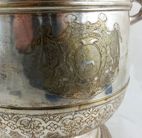 French plate wine cooler 1730