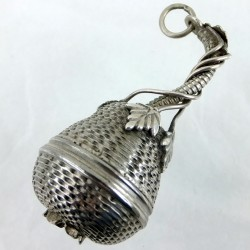 Silver pomander