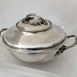 Maltese silver vegetable tureen