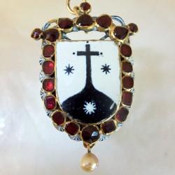 Seventeenth century Carmelite pendant.
