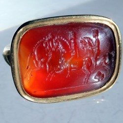 Ancient intaglio ring