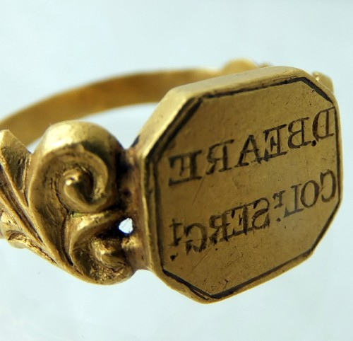 Indian mutiny gold ring