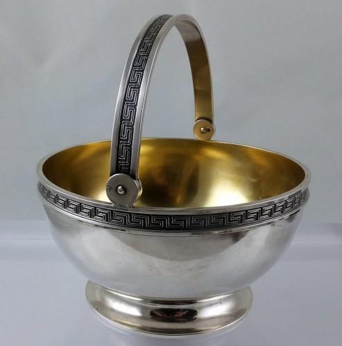 Faberge silver sugarbowl
