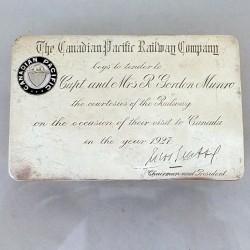 Silver rail pass