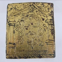 Medieval pilgrims medal