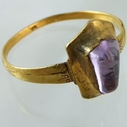 Medieval sapphire ring