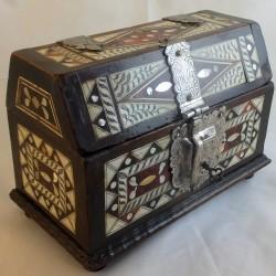 Seventeenth century Mexican casket