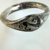 Ancient Greek silver ring